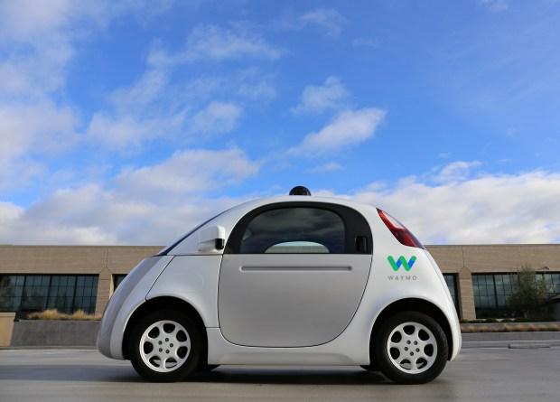 Google's Waymo self-driving pods