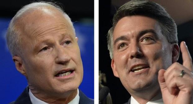 U.S. Rep. Mike Coffman, R-Colo., and Sen. Cory Gardner, R-Colo.