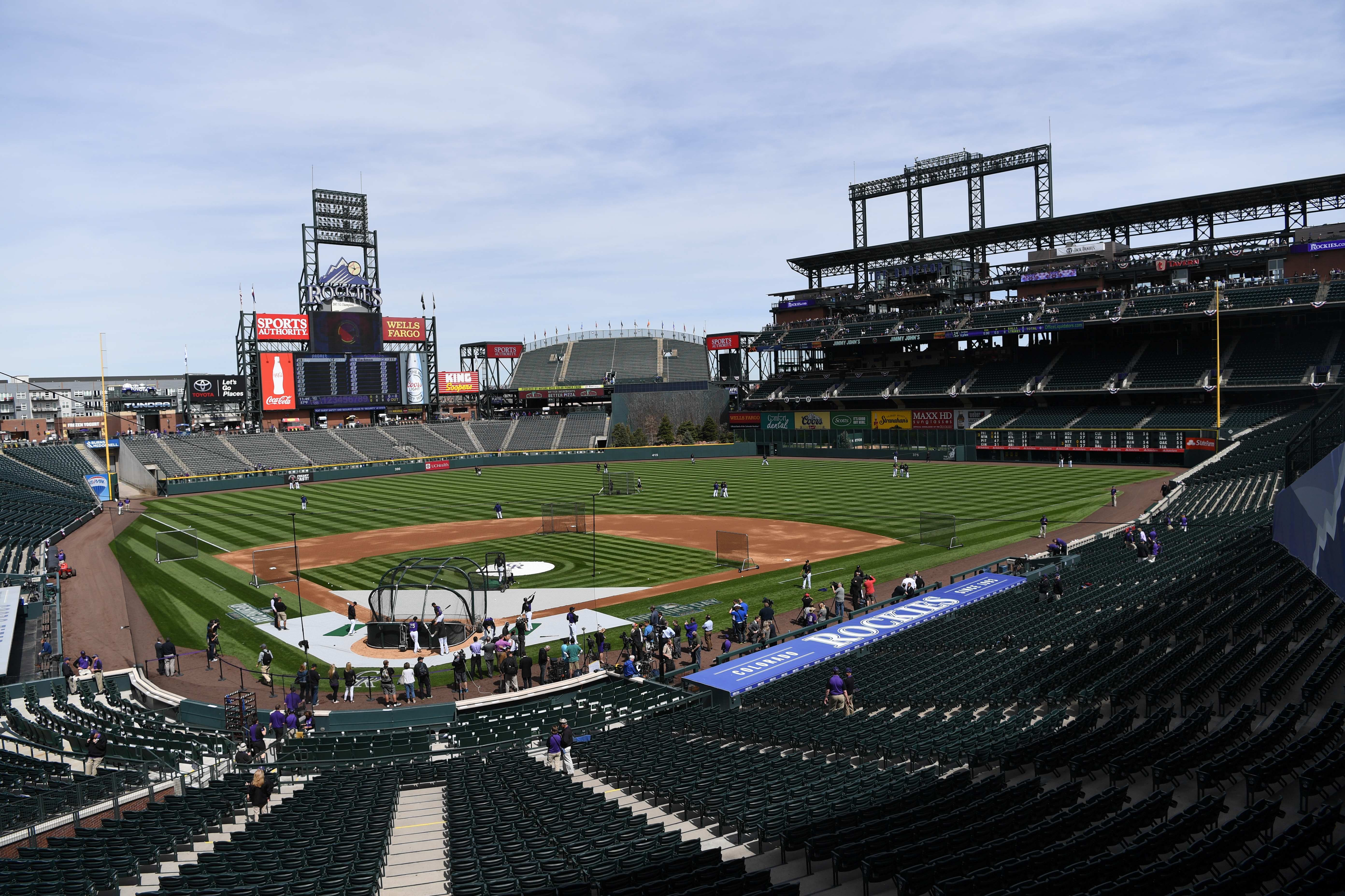 Rockies Sign Lease Deal To Keep Coors Field Home For Next