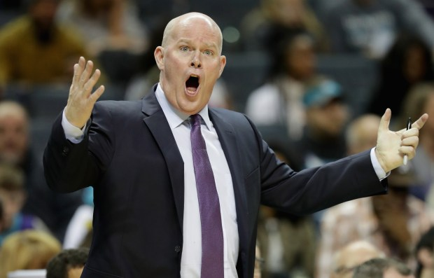 Head coach Steve Clifford of the Charlotte Hornets