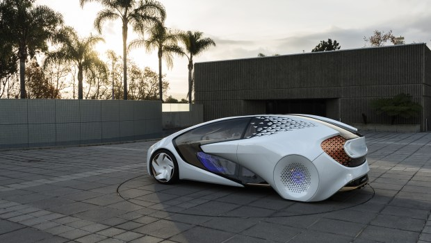 Toyota's Concept-I autonomous vehicle