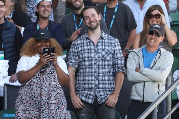 Alexis Ohanian, fiance of Serena Williams
