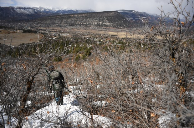 Colorado Parks & Wildlife researcher David ...
