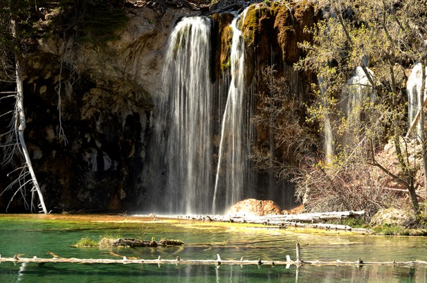 U.S. Forest Service officials frustrated by vandalism are thinking about temporarily closing the trail to Hanging Lake, one of the most popular attractions in western Colorado.