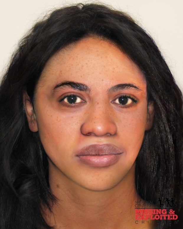 A composite sketch of the female whose body was found along Colorado 103 in Clear Creek County.