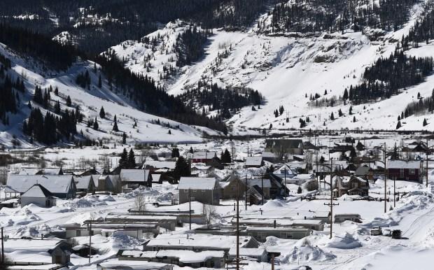 Old mines in Silverton, Colorado are ...