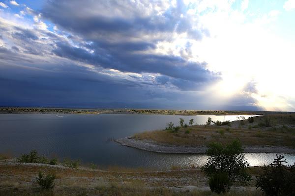 A photo of Lake Pueblo.