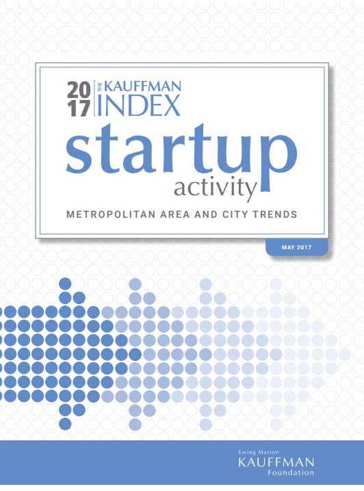 The 2017 Kauffman Index of Startup Activity from the Ewing Marion Kauffman Foundation.
