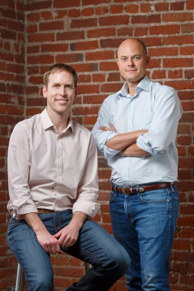 Evolve Vacation Rental Network cofounders Brian Egan & Adam Sherry.