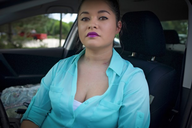After leaving her shift at a Holiday Inn around 11 pm, Cori  got in her car to drive home. Headed for the freeway, she stopped at a red light. In the next second, Romero was shot in the neck. The shooter then drove off.