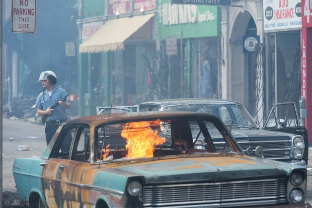 """A scene from """"Detroit."""" ..."""