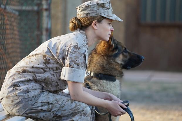 """Kate Mara in """" Megan Leavey."""" ..."""