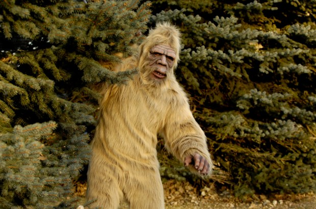 Which myth is less likely to actually be spotted: Bigfoot or the Moderate Republican?