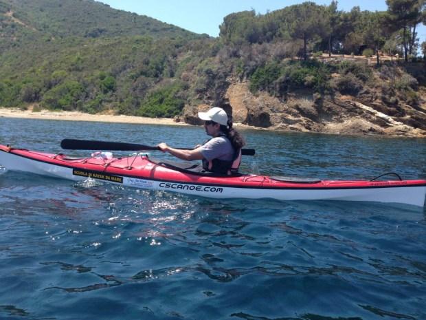 Ahmet Ustunel will paddle his kayak through the Bosphorus Strait.