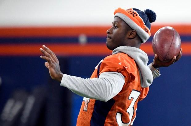 Denver Broncos defensive back Will Parks ...