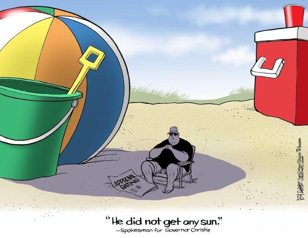 chris-christie-on-the-beach-cartoon-breen