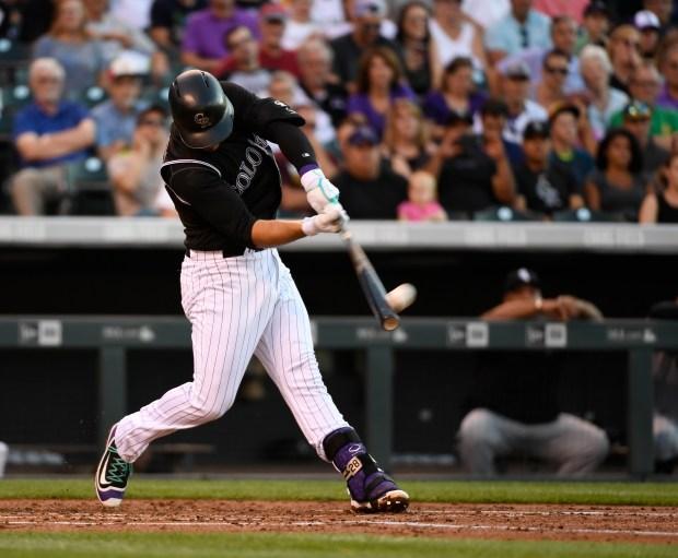 Colorado Rockies third baseman Nolan Arenado ...