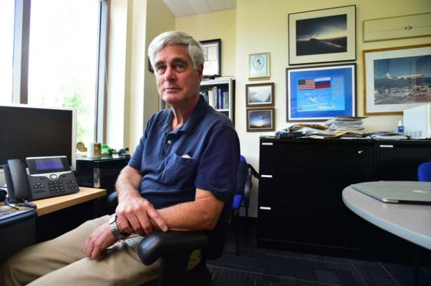Brian Toon, a professor of atmospheric and oceanic sciences, is pictured Wednesday at his office in Boulder. He is a fellow at the Laboratory for Atmospheric and Space Physics at the University of Colorado.