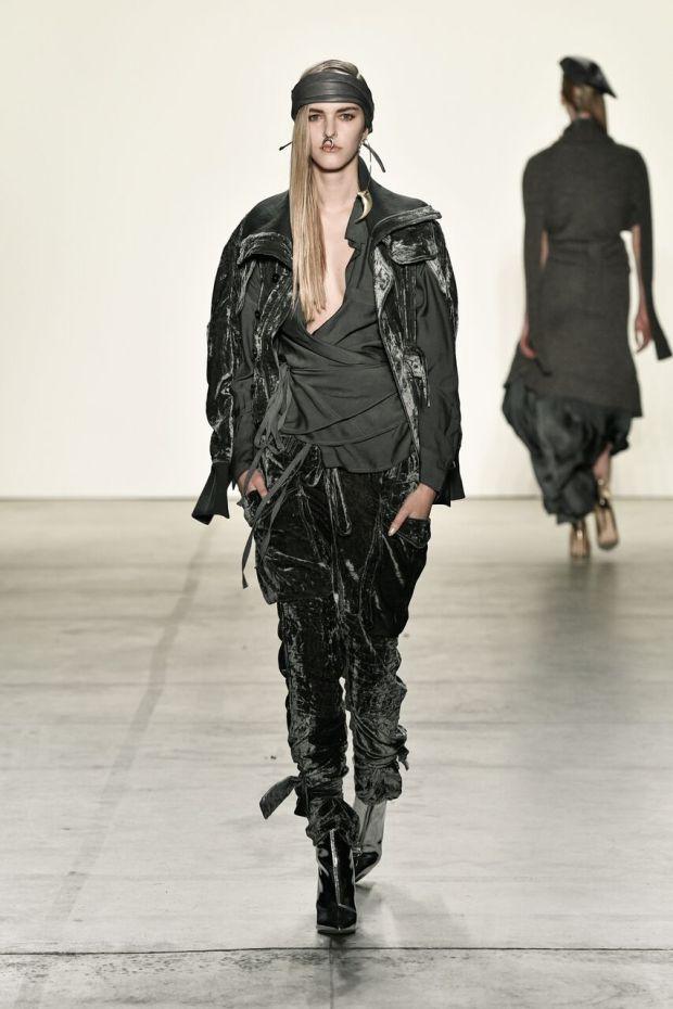 Nicholas K fashion for fall/winter. Velvet ...
