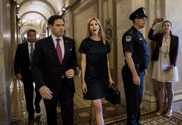 Ivanka Trump and Marco Rubio met ...