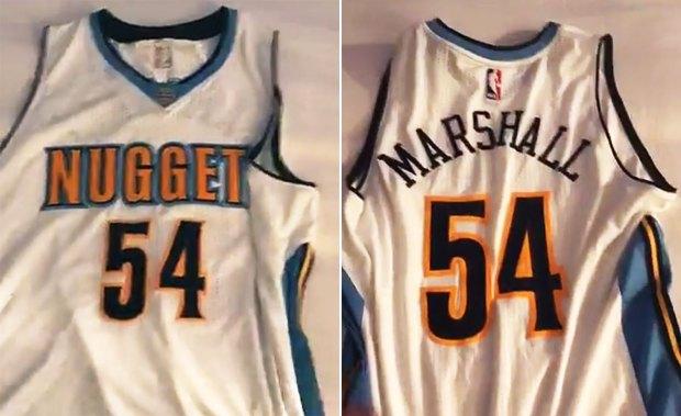Brandon Marshall Nuggets jersey