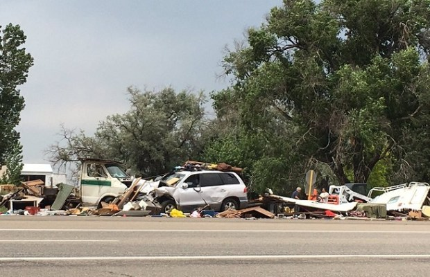 A crash Friday afternoon, July 7, ...