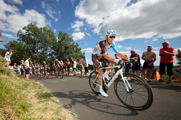 Romain Bardet of France riding for ...