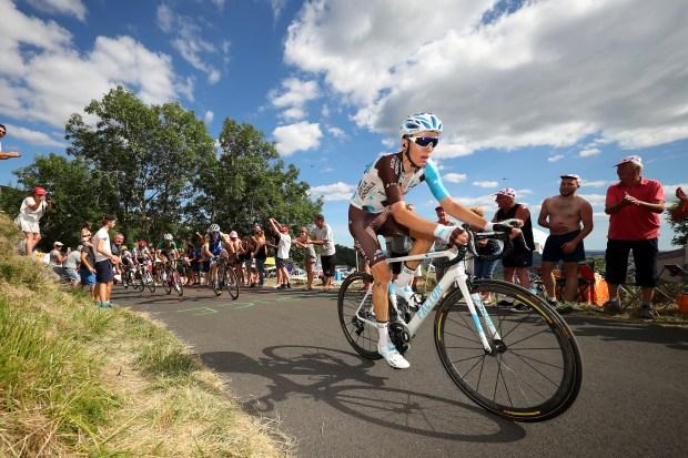 Romain Bardet of France riding for ...