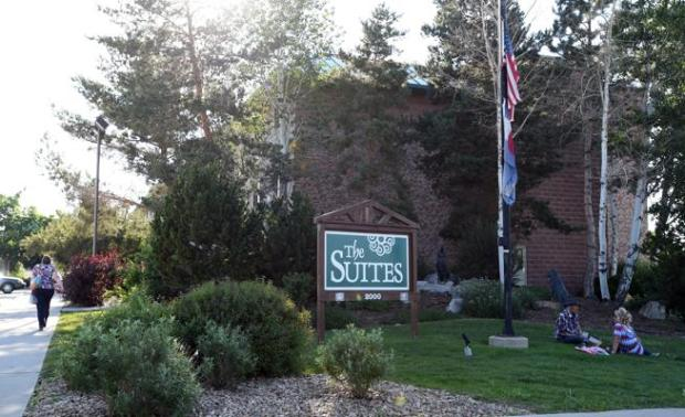 The Suites is pictured in Longmont in June.