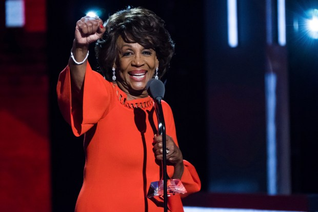 Congresswoman Maxine Waters attends the Black Girls Rock! Awards at the New Jersey Performing Arts Center on Aug. 5.
