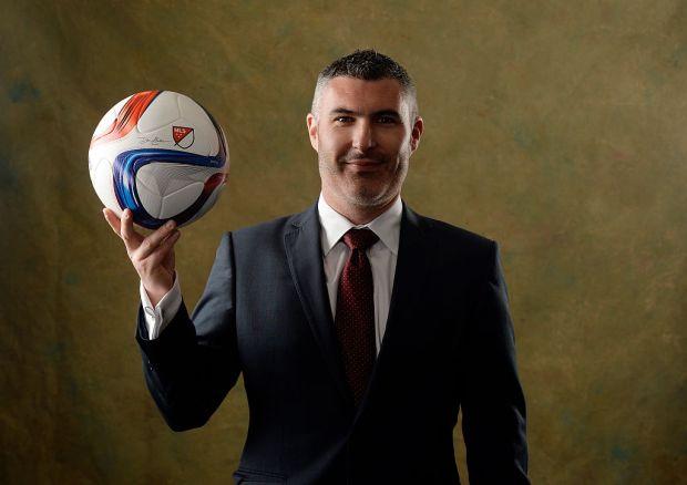 Colorado Rapids sporting director Pádraig Smith ...