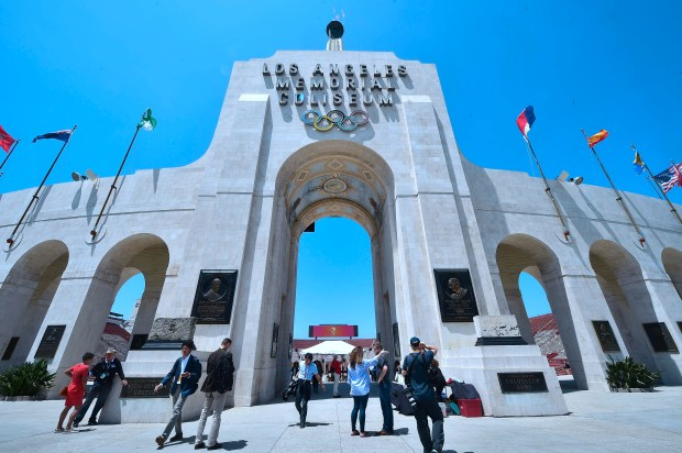 The Los Angeles Memorial Coliseum opened in 1923 and was used for the 1932 and 1984 Summer Olympic Games.