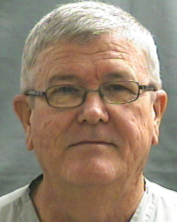 This July 31, 2014 photo provided by the Oklahoma Department of Corrections shows Harold D. English. English, a convicted sex offender who molested his niece when she was 7, moved next door to his victim after being released from prison in June 2017. (Oklahoma Department of Corrections via AP)