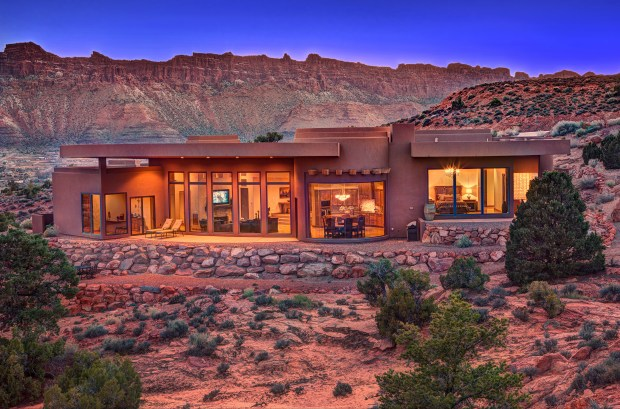 Arches National Park: The 2008 desert estate in Moab, Utah, is listed at $1.55 million.