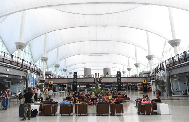 Denver International Airport has proposed a $1.8 billion partnership with a team led by Ferrovial Airports for a terminal renovation and 30 years of oversight over new concessions. DIA's terminal is shown on Aug. 4, 2017.