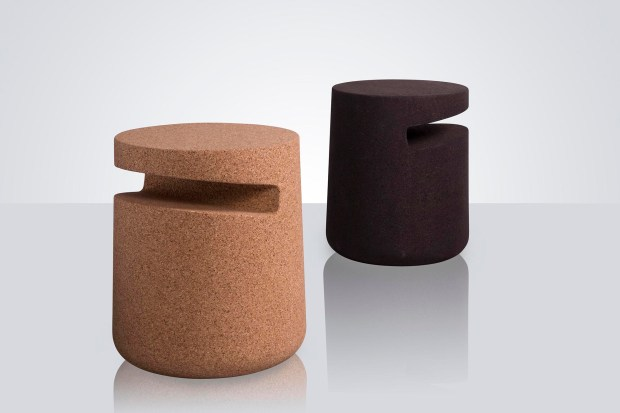 Modus UK's Art is one in a series of three cork tables ($635-$1,624, modusfurniture.co.uk).