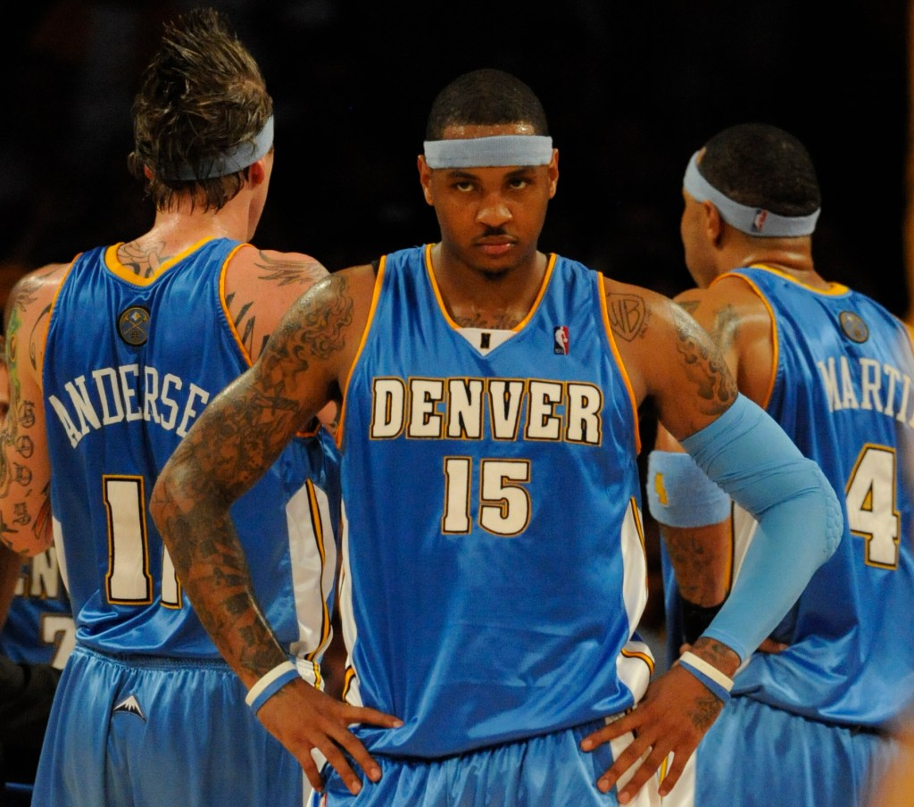 PHOTOS Denver Nuggets jerseys through the years  The