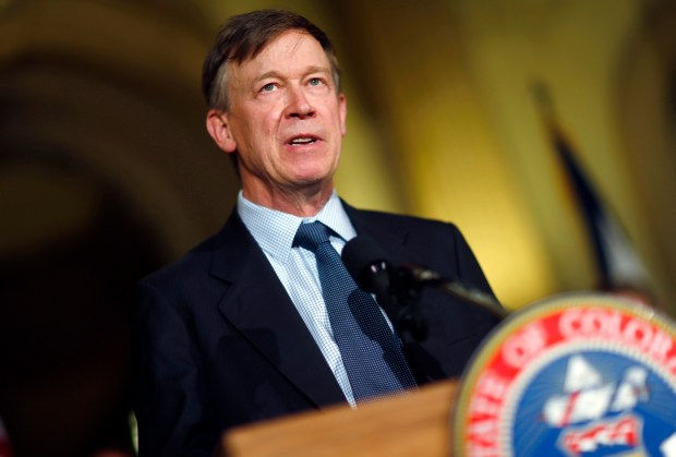 Gov. John Hickenlooper on recently announced a seven-pronged approach he said would improve the safety of the oil and gas industry in the state. He unveiled the steps in a news conference in his office after a three-month review after a fatal home explosion in Firestone that investigators have linked to a severed gas pipeline.