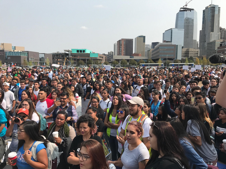 Image result for images of DACA protests in Denver