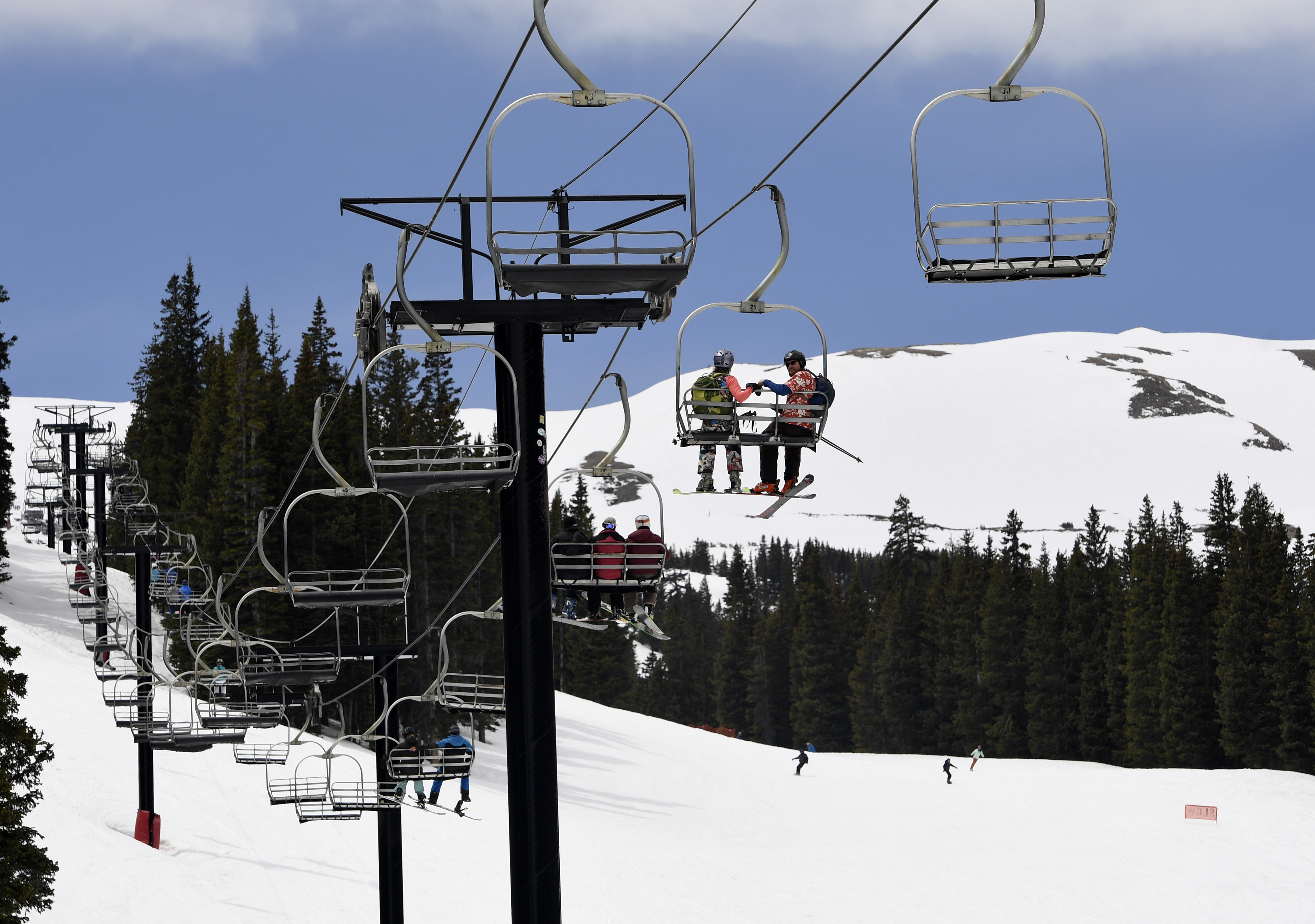 ski chair lift upholstered side chairs dining loveland area employee s death unrelated to chairlift state safety inspectors say