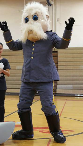 This January file photo depicts Weld Central Middle School's mascot. The mascot, which is the same one used by Weld Central High School, has come under fire recently after a national debate erupted about civil war monuments and homages.