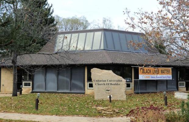 The Unitarian Universalist Church of Boulder is located at 5001 Pennsylvania Ave