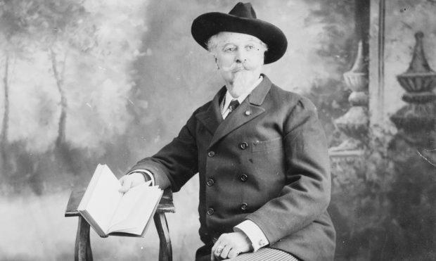 Colonel William F. Cody (Buffalo Bill Cody) circa 1907.