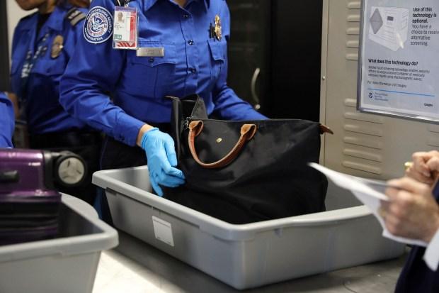 TSA Officials And Delta Introduce Automated Security Screening Lanes At LaGuardia Airport