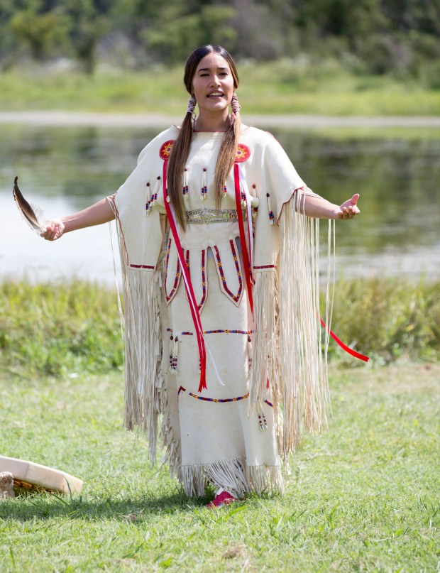 Q'orianka Kilcher stars as Te Ata, who grew up in Indian Territory and eventually performed for a U.S. president. The film's hammy acting and tonal missteps give her stories short shrift.