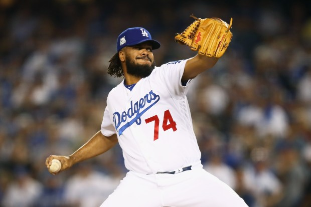 Kenley Jansen #74 of the Los ...
