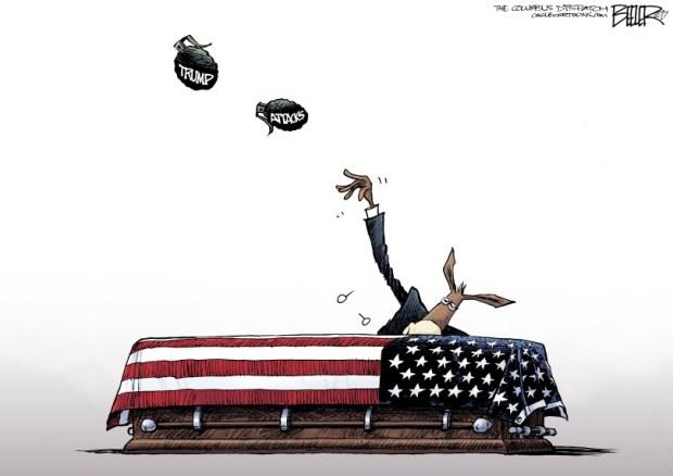 newsletter-2017-10-30-trump-condolence-calls-cartoon-beeler