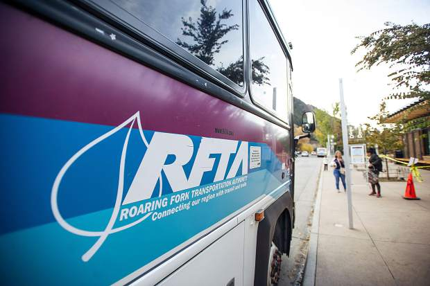 A RFTA bus is pictured.