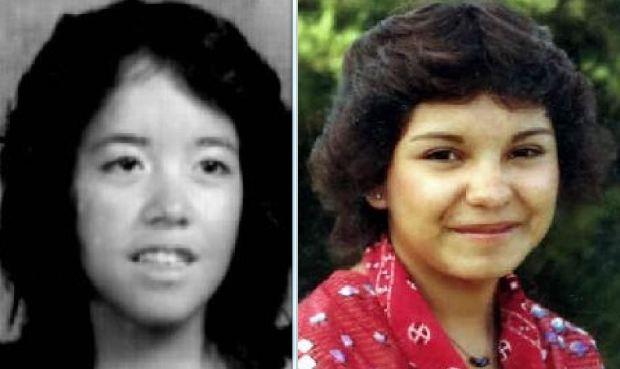 Yvonne Mestas (left) and Victoria Sanchez (right)