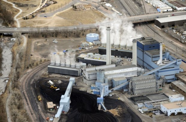 The Martin Drake power plant just ...
